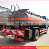 Best price 8m3 chemical liquid transportation truck , sulfuric acid tanker truck , chemical truck manufacturer