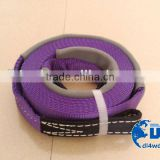 4wd accessories polyester electric winch strap