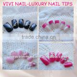 VIVI NAIL -SQUARE LUXURY SERIES NAIL ART