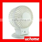 UCHOME Factory Price Rechargeable Electric Fan Palm Leaf Fan With Rechargeable Usb Mini Fan