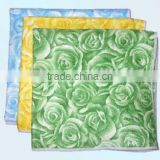 custom print microfiber oil absorbent paper bamboo fiber cleaning cloth/towel mop dust cloth