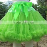 Wholesale Fluffy Tutu Pettiskirt Baby ballet dress Girl Chiffon Ruffle Tutu Dance Pettiskirt Party ballroom Pettiskirts
