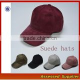 Fashion New Design Colourful Suede Baseball Cap Suede Dad Hat Suede Snapback Sport Cap With High Quality---RAC1703
