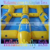 6person inflatable fly fish, inflatable water game