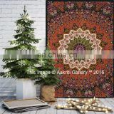 Wholesale Mandala Tapestry Home Decor Star Elephant Glow In The Dark Bedspread Wall Hanging Use Indian Tapestry
