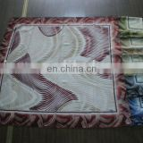 fashion printed turkish-chiffon woven square scarf for gift