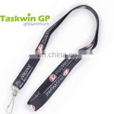 China supply custom imprinting lanyard,Polyester lanyard for ID car holder with swivel clip