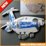 Customized PVC 3D Fridge Magnet /airplane pvc fridge magnet