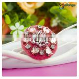 New year Wholesale handmade accessories beaded decorative jacket buttons