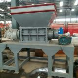 Waste Plastic Drum PE Drum Shredder With Belt Conveyor from China