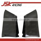FOR EVO 10 EVO X CARBON FIBER REAR BUMPER EXTENTION CORNERS FOR MITSUBISHI LANCER EVOLUTION 10 EVO X (JSK200836)