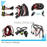 Rohs certificated customized on-off road switch with DT connector electric car auto light wire cable harness