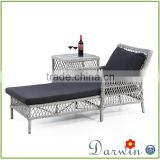 rattan outdoor furniture pool chaise lounge chair                                                                         Quality Choice