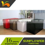 Folding Metal Bed/ Ottoman Stool