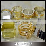 Wholesale Personality Silver Wedding Party Napkin Ring Holder