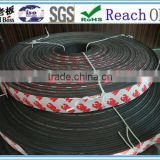 Hot sale in Chile fire seal strip with tape / hear-resistant rubber seal strip/fire door seal/PVC Seal Strip Price