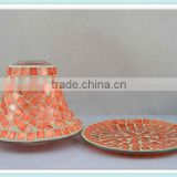 2014 new mosaic lamp candle shade for home decoration&wedding