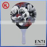 color flower Hot sale OEM high quality Wooden carbon Beach Tennis Racket /beach paddle set with beach racket wholesale