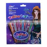 Tattoo Gel Pen With EN71 And ASTM Certificate