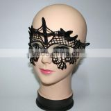 Wholesale Sexy Embroidery Black Lace Mask Lady Eye Face Mask Masquerade Mysterious Masks For Home Party Fancy Costume