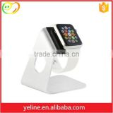 Fashional metal cool watches for apple watch stand foe teenagers, for apple time watch stand