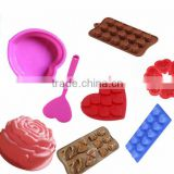 (DCS-ST072) Valentine's Day Collection of 8 Pieces Love day heart shape Bakeware and Chocolate Mold