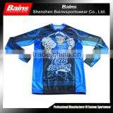 High Quality Long Sleeve custom rash guard/China manufacturer factory mma rash guard/Attractive designs sublimated rash guard