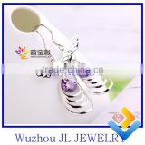 2014 Jewelry factory best price all jewelry 925 silver fashion BOXI style earrings bead latest style earrings