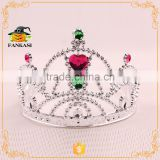 Plastic princess crown for girls