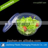 China customized Transparent packaging blister plastic disposable packing salad fruit tray