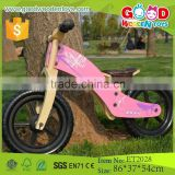 2015 China Factory Wholesale Price 12 Inch Wooden Balance Bike