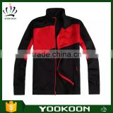 Cheap Black Soccer Tracksuit Wholesale Football Team Jacket Custom breathable Sports Jacket