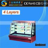 Counter Cake Display/Glass Cake Display Cabinet/Ice Cream Cake Display Freezer (SY-CSA474B SUNRRY)