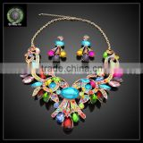 costume jewelry crystal jewelry set designs african fashion retail and wholesale welcome KHK722