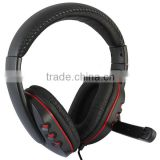 USB Gaming Stereo Headset Headphone With Noise Canceling Mic For PC PS3 PS4 Xbox360