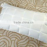 Buckwheat hull&feather pillow,white duck down pillow used for summer and winter