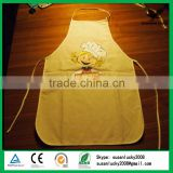 Top Quality 100% Custom children cotton apron branded your own logo (directly from factory)