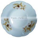 Factory price porcelain dinner plate