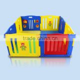 plastic baby playpen with safety gate & baby product