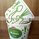 insulated double PE coating food grade paper cup for instant noodle and soup                                                                         Quality Choice