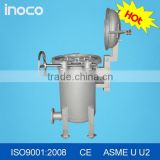 INOCO bag filter stainless steel water filter water treatment machine                                                                                                         Supplier's Choice