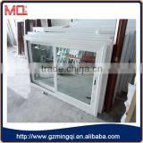 Latest aluminum frame coated glass sliding window design                                                                                                         Supplier's Choice