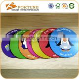 Promotional cheap paper waterproof coasters,for sale round customized CMYK printed drink coasters