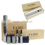 2014 best vaporizer e-cigarette mod vamo v5,telescopic adjustable voltage vamo v5 mod 2200mah wholesale