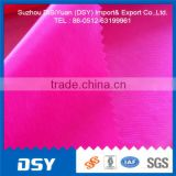 15D 400Tnylon dty fabric semi dull nylon/polyamide ripstop with silicone coating from wujiang