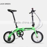 "14"" 7 Speed Lightweight Folding Bike BMX Bicycle for Sale"