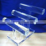 Clear Acrylic Earring Display Stand Acrylic Display Rack PMMA Jewelry Display                                                                         Quality Choice