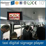 FlintStone 10 inch digital photo frame, digital bus display screen, advertising products for promotion