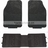 Cheap 3PC Universal Fit Front & Rear wholesale car mat rubber