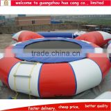Guangzhou factory inflatable water jump bed, water air bouncer, inflatable water bouncer trampoline